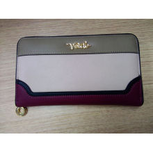 Guangzhou Supplier Designer PU Leather Lady Purse (NMDK-W020)