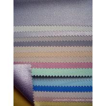 Tissu aveugle en rouleau recouvert de PVC métallisé (série LS 09)