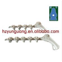 griffes sérieuses en aluminium / haubanage / câble électrique
