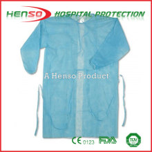Henso Surgical Gown with elastic cuff