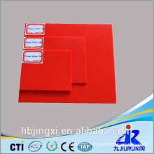 Red Silicone Rubber Sheet / Mat