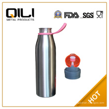 BPA libre acero inoxidable deportes botella de agua