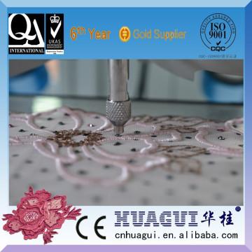 HUAGUI Einzelkopf zwei Farbe Edelstein Stein Einstellung Stickmaschine zum Verkauf