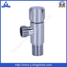 Хромированный латунный угловой клапан с ручкой из цинка (YD-5031)