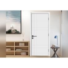 Portes de salle de bain en bois de conception moderne