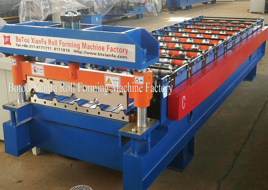 color steel panel forming machine