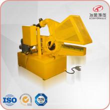 Máquina de corte hidráulico jacaré para sucata