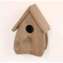 Antique Style Wooden Natural Brown Birdhouse