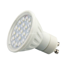 Cerámica 120degree 4W 21 2835 SMD GU10 Proyector del bulbo del LED