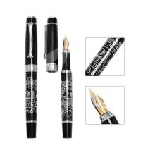 Высококачественная металлическая фонтанная ручка для рекламного подарка для бизнеса