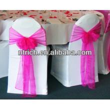 Dekorative Organza Stuhl-Schärpe für Hochzeit