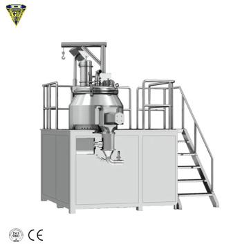 high speed super wet mixing granulator flour granulation machine hlsg