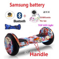 Hoverboard με Bluetooth LED Φώτα Big Wheel