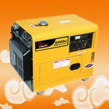 Сертифицированный CE дизельный генератор 6kva