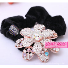 Feliz aniversario princesa acessórios de cabelo de diamante de diamante real