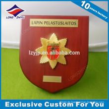 Kundenspezifische Probe Holz Award Plaque Basen mit freiem Design