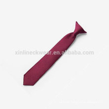 Perfect Knot Polyester Woven Clip on Tie