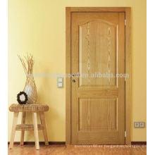 Puerta de chapa moldeada HDF