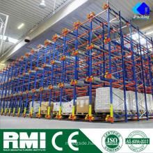 Pallet racking system factory manufacturorJracking economical high density heavy duy metal radio shuttle pallet racks