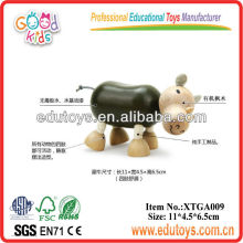 Other Toys For Baby,Wooden Rhino Toys For kids