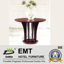 Vestíbulo Decorar muebles mesa de madera de pie de flor (EMT-FD10)