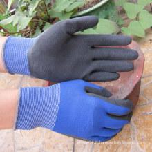 Gant de latex en mousse de latex polyester moulé Gant de latex