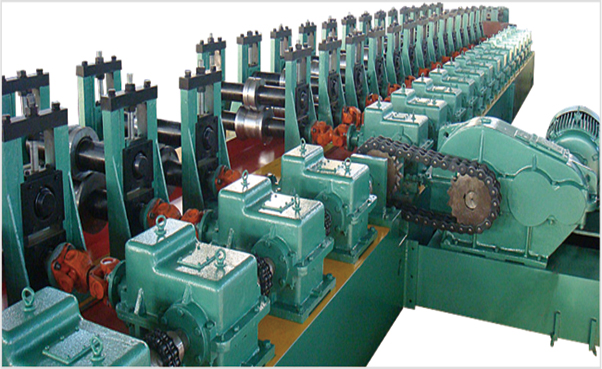 Hangzhou YIBO Warehouse Storage Pallet Rack Roll Forming Machine