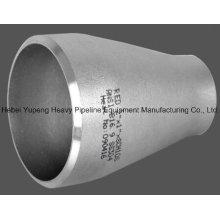 Aço inoxidável A403 Wpb Butt solda tubo redutor