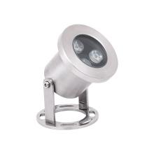 Werks 3W Edelstahl Außenbeleuchtung IP68