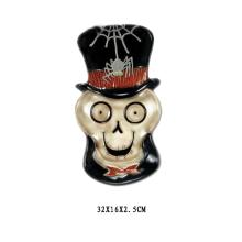 Plat en céramique pour cadeau d'Halloween