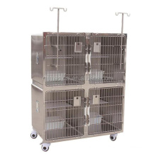 High Quality 304 Stainless Steel Veterinary Equipment Display Cage For Sale
