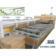 Machine autobloquante pour tuyaux en PVC
