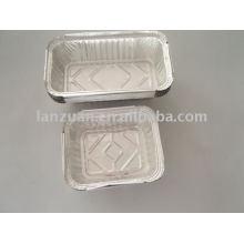 Récipient de papier aluminium pour la conservation des aliments