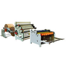 Heavy Duty Single Facer Corrugated Cardboard Production Line