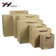 Großhandel Logo gedruckt recycelbaren Kraft Tasche mit Logo