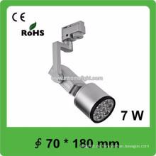 Hohe qulity CE & ROHS Zertifikat 7W Cob führte Schienenlicht, 3 Jahre Garantie