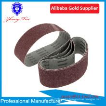 Aluminum oxide abrasive sanding belt for wood&metal