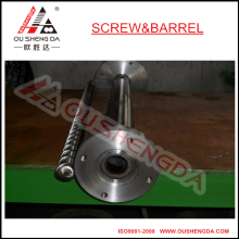 extrusor de tornillo simple y cilindro con cilindro de tornillo de brida para PVC UPVC SPVC