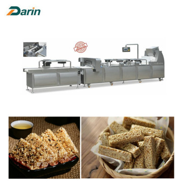 Εγκεκριμένο CE Fruit Bar Chikki Bar Cutting Machine