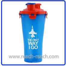 700ml Copa de plástica de la coctelera de proteína (R-S059)