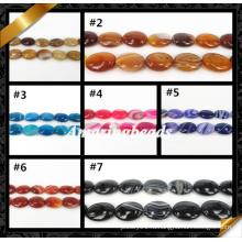 Высококачественные агатовые украшения, полудрагоценный камень агата, бусины драгоценного камня (AG008)