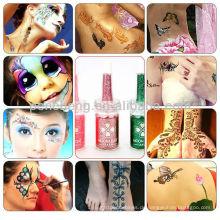 Professionelle fluoreszierende Tattoo-Tinte