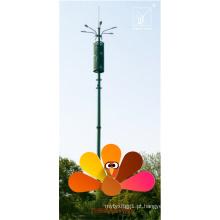 22m Monopole Tlecom Tower para Estação Balsa
