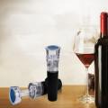 Colorful Unique Silicone Glass Wine Bottle Stopper