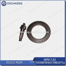 Genuine NQR 700P Crown Wheel Pinion Gear 7:43 NPR-7:43