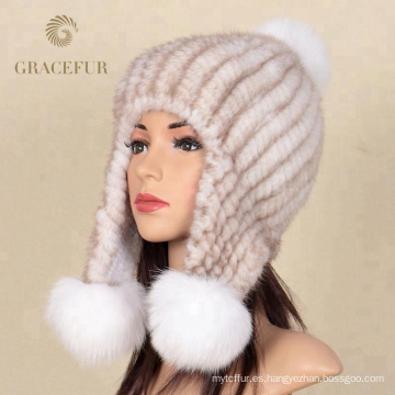 Proteger oreja cachemir sombrero de piel ruso grande