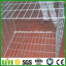 hesco weld mesh gabion /welded wire gabion box/galfan welded gabion