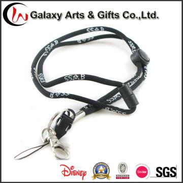 China Wholesale preto redondo poliéster Jacquard tecidos cabo corda corda