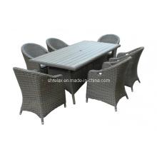 Garten Rattan Stuhl Tisch Set Patio Wicker Gartenmöbel
