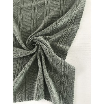 Sweater Jacquard-Strickstoff